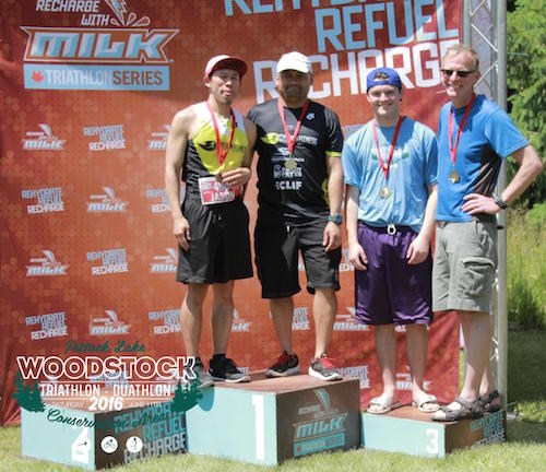 Woodstock Duathlon Relay Winners