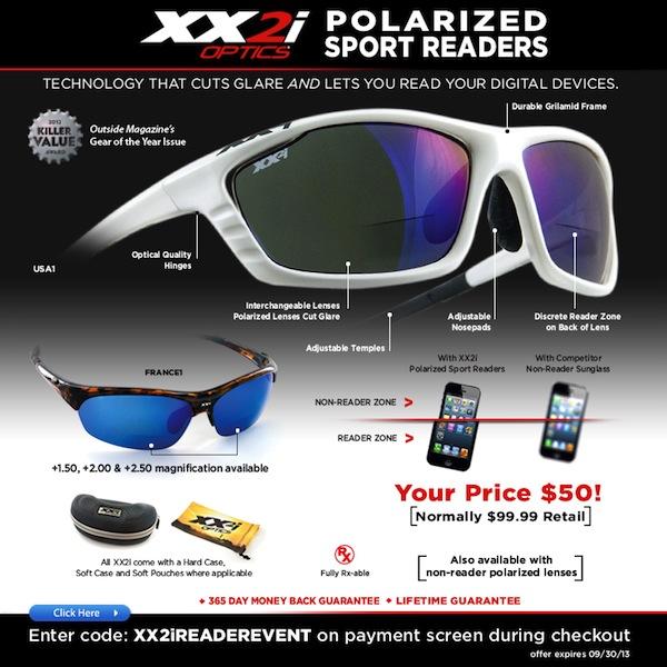 xx2i Polarized Sport readers
