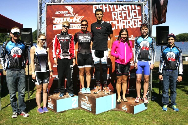 Lakeside Sprint Tri Podium