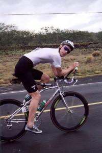 Steve Fleck at the 1993 Ironman World Championships.