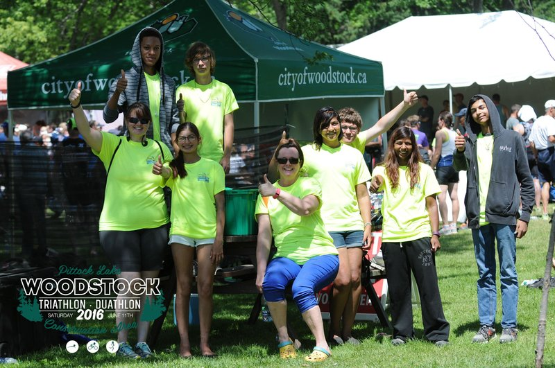 Volunteers from Woodstock 2016