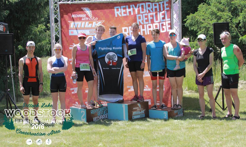 Woodstock Give-It-A-Tri 2016 - Top 5 Women and Men